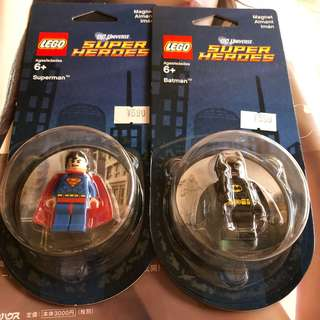 LEGO Magnet Superman Batman DC