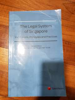 The Legal System of Singapore