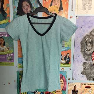 Plain and Stretch Ringer Tee