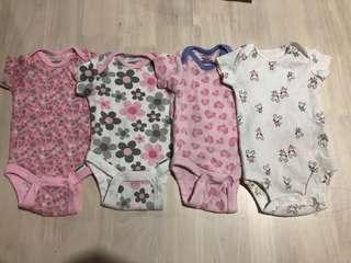 (Bundle) Gerber & Carter's Onesies for baby girl