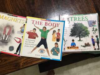 Learn aboutx3 books-magnet, the body, trees