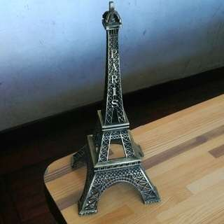 "巴黎鐵塔模型擺設la tour Eiffel tower 10""高 height"
