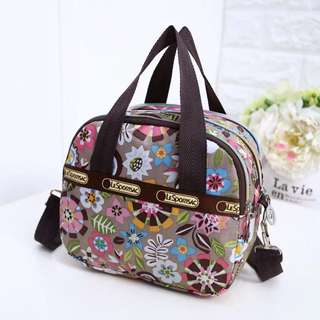 Authentic Lesportsac Bag - Party Flower