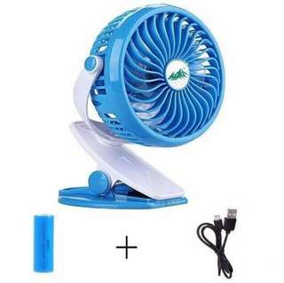 Pre Order rechargeable clip fan  Php 300 #snmalm