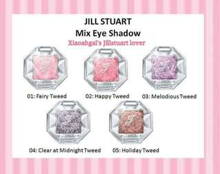 🌷Quote ur own price➡️MY FOLLOWERS ONLY🌷🚫Non Followers No Discounts🚫⭐RESTOCK MONTHLY!⭐🐰AUTHENTIC BRAND NEW IN BOX🐰🌻Limited Edition Color🌻Jill Stuart Jillstuart Mix tweed shimmer Eyeshadow💋No pet No smoker Clean hse💋