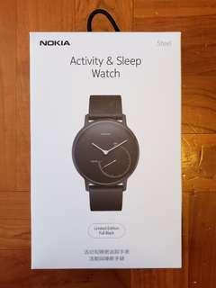 Nokia Steel black edition 連三條額外錶帶