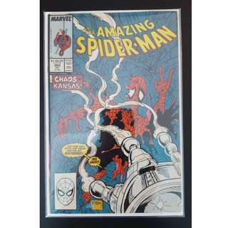Amazing Spider-Man #302 (1988, 1st Series) Todd McFarlane's Awesomeness! Guest-starring Silver Sable!