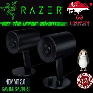 Razer Nommo 2.0 Gaming Speakers..