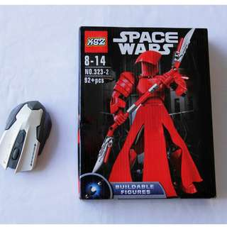 Space Wars like StarWars Collection - RED Guard