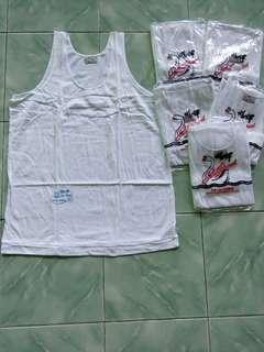 Kaos singlet/kaos dalam pria merk swan brand