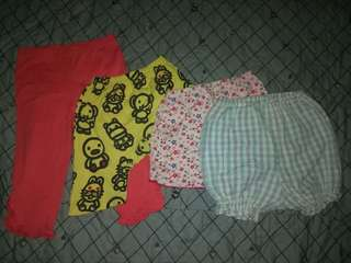 Pajamas and short kids