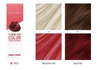 April Skin Turn Up Color Treatment - Red (Instock)