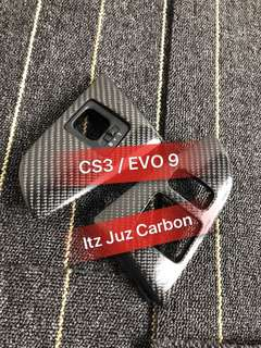CS3 Carbon Fog lamp panel