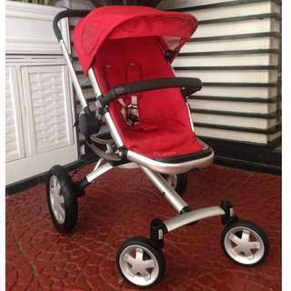 Quinny Buzz 4 stroller with extra seat and accessories