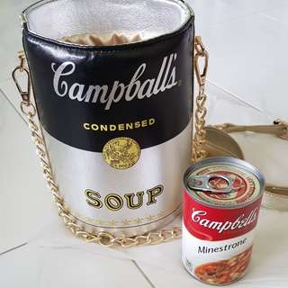 Cambell's soup bag (with dust bag)