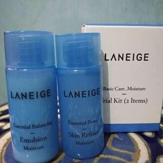 Laneige Trial Kit (Emulsion & Skin Refiner)