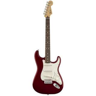 Fender Standard Stratocaster Electric Guitar, Pau Ferro FB, Candy Apple Red