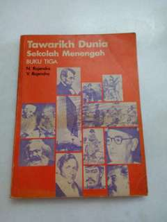 Vintage Tawarikh Textbook Form 3 1969