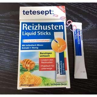 🚚 德國tetesept 蜂蜜口味 潤喉止咳液