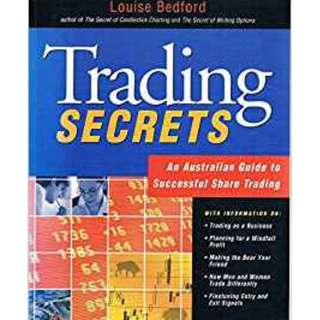 Trading Secrets 1st Edition  by Louise Bedford