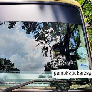 HARLEY QUINN CUSTOM DECAL