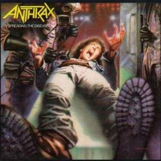 Anthrax – Spreading The Disease Digipak 2CD 30 Years Anniversary