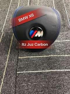 BMW X6 Leather Airbag Wrap