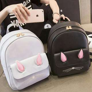 Rabbit Korean backpack