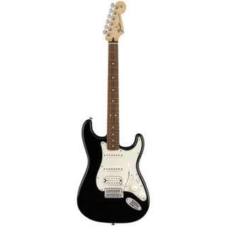 Fender Standard Stratocaster HSS Electric Guitar, Pau Ferro FB, Black