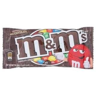 M&M's Milk Chocolate Candies 40g