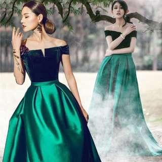 EG0188 Evening Gown, ROM Dress, DND Dress Instock v1