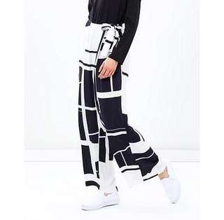 Size 10 Staple The Label Geo Wrap Pants