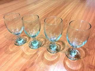 NEW Gelas Wine One Set (4 Pcs)