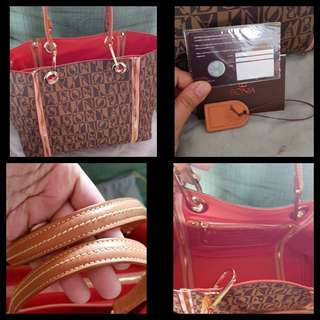 Authentic Bonia leather bag