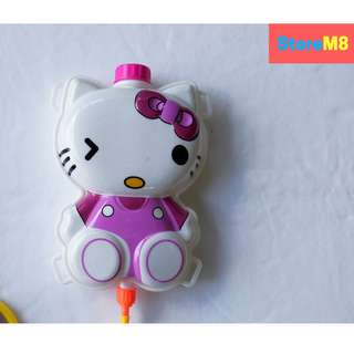 Hello Kitty Character Backpack Water Gun