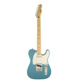 Fender Standard Telecaster Guitar, Maple Neck, Lake Placid Blue, w/o Bag