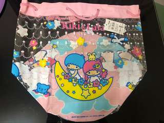 Sanrio TW Twin Star 2004 透明沙灘袋