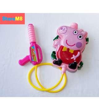 Peppa Pig Character Backpack Water Gun