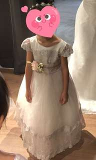 Little girl gown