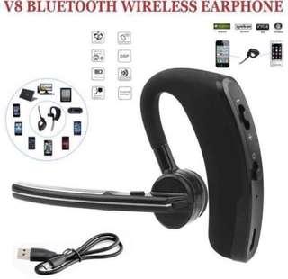 突破700好評超特賣!現貨100%New! 本店又一誠意性價比之選~簡約V8商務藍牙耳機 wireless Bluetooth Earphone