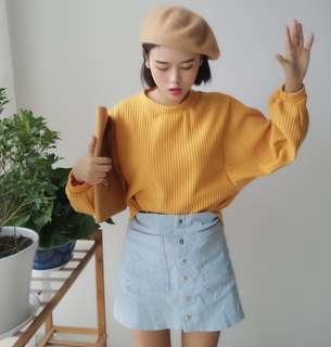 P.O: Ulzzang Striped Sweater