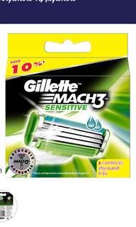 Gilette Mach 3 sensitive