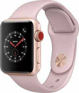 Apple Watch 42mm  Series3 玫瑰金色