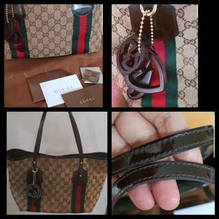 Authentic Gucci shoulder/tote  bag