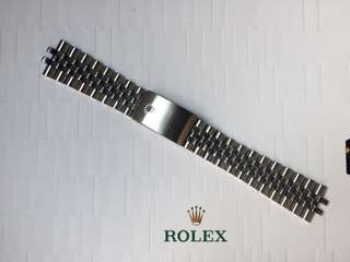 罕有 勞力士 珠帶 Rolex Jubilee Bracelet 20 mm 適合 Datejust Gmt Submariner explorer
