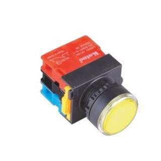 Illuminated Push Button (Momentary) - Red, Green, Yellow