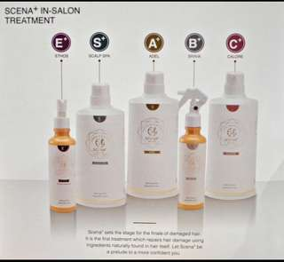 Mucota Scena+ 5 Steps Hair Treatment Package with Nano Technology!