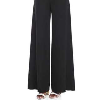 Marisota Black / Grey Palazzo Pants