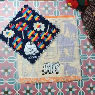 Moomin 嚕嚕米棉質小毛巾