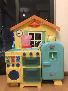 peppa pig kitchen set 佩佩豬廚房套裝